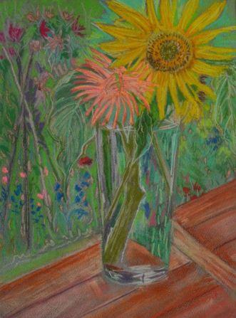 Summer Vase Copyright Annika Milisic-Stanley