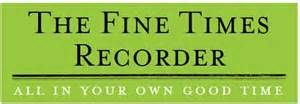 Book Review: The Fine Times Recorder