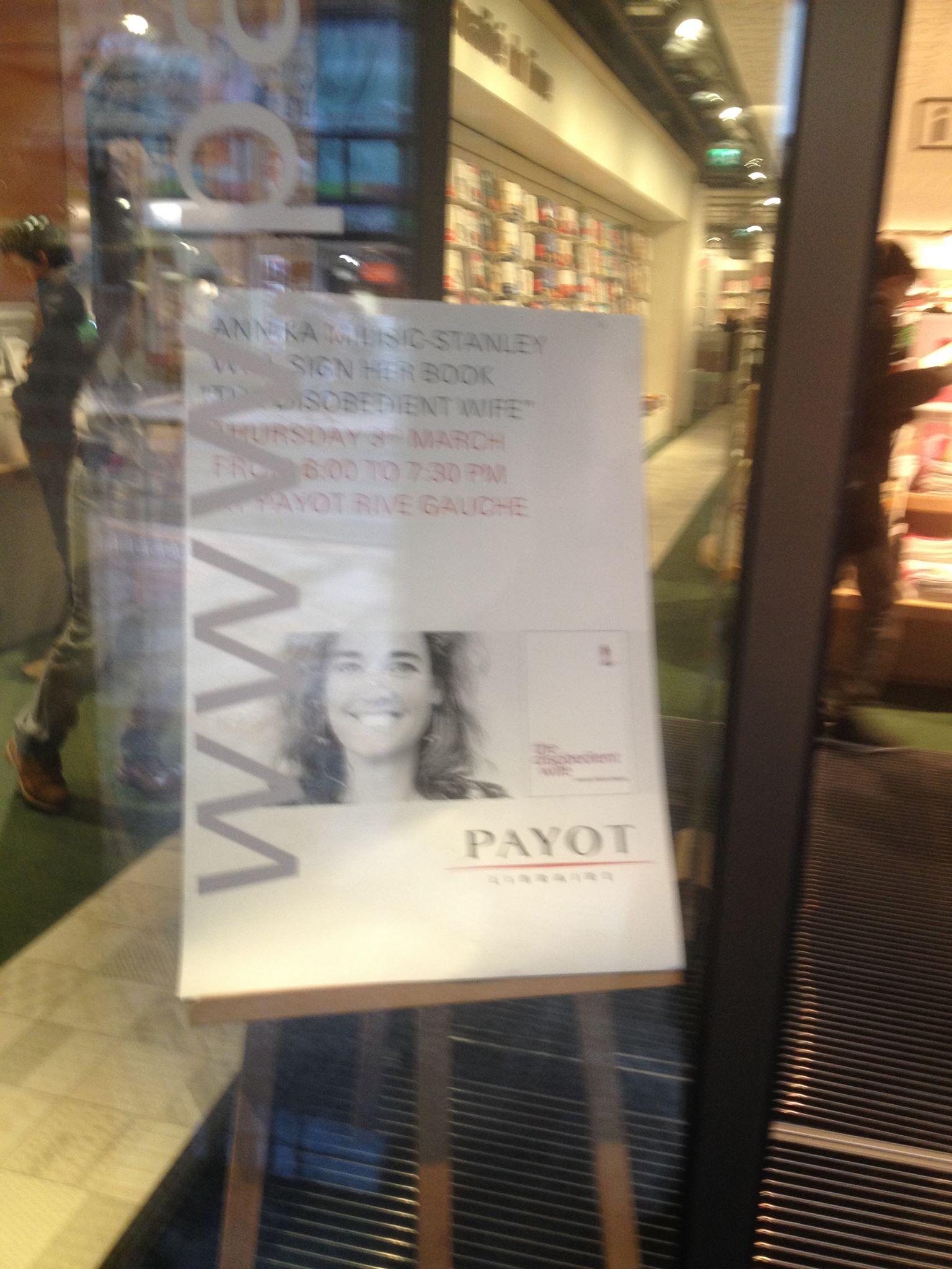 Geneva Payot Poster